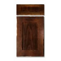 Puerta pino garachico tinte castaño pardo